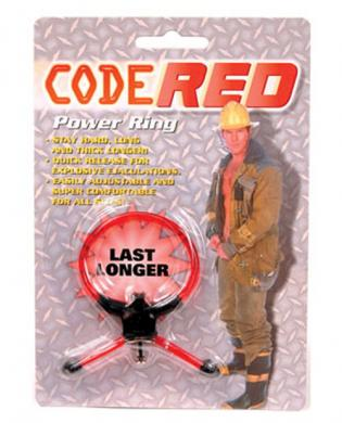 Code red power ring – red