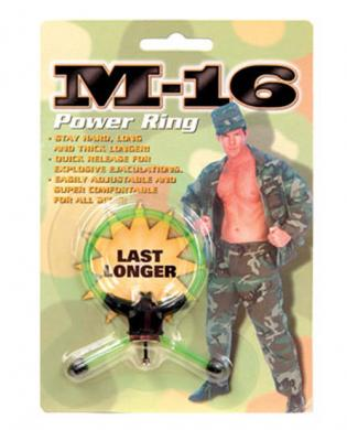 M-16 power ring – green