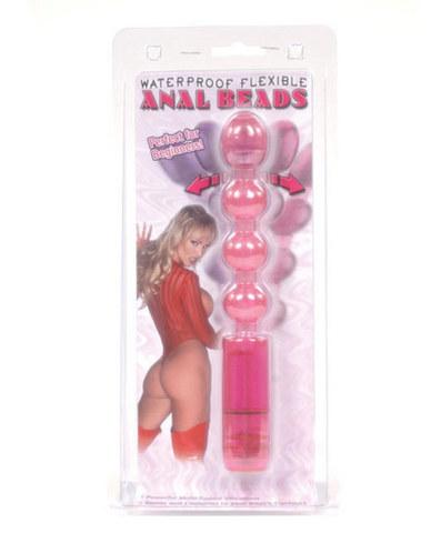 Flex waterproof anal bead - pink