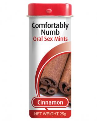 Comfortably numb mints – cinnamon