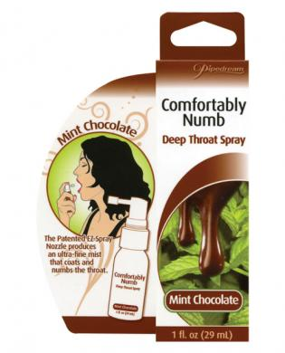 Comfortably numb deep throat spray &#8211; mint chocolate