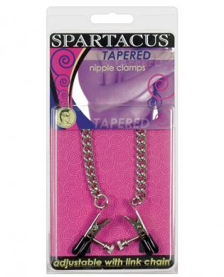 Adjustable tapered tip clamps – link chain