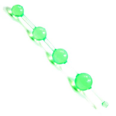 Jelly Thai Beads Green