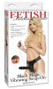 Ff Black Magic Vibrating Strap On Product