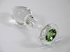 Crystal Delights Mint Green Glass Anal Plug