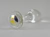 Crystal Delights Aurora Borealis Glass Anal Plug
