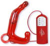 Men's Pleasure Wand Prostate Massager- Red