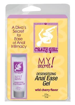 Crazy Girl Anal Ease Gel 0.5 oz