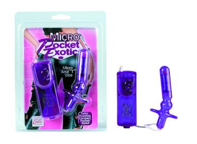 Pocket exotics micro anal t vibe - purple