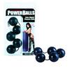 Anna malle\'s latex dipped power balls - black
