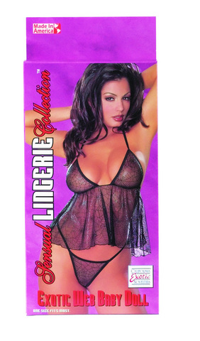 Sensual Lingerie Collectio Exotic Web