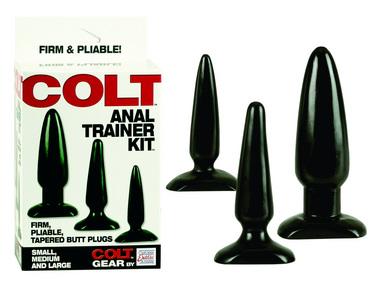 COLT Anal Trainer Butt Plug Kit
