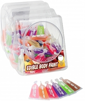 Edible Body Paints 10Ml Display