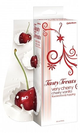 Tasty treats very cherry flavored body topping – cherry vanilla