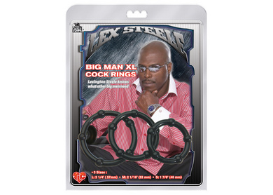 Lex Steele Big Man XL Cock Rings