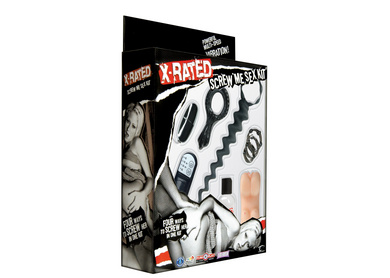 X Rated Screw Me Sex Kit