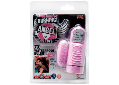 Burning Angel 7X Bullet Pink