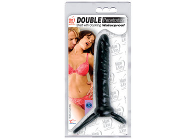 Double Penetration Shaft with Cock Ring