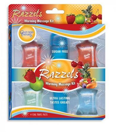 Razzels Warming Massage Kit