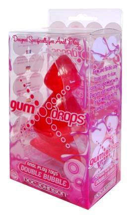Gumdrops Double Bubble Red