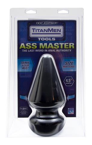 Titanmen Butt Plug 4.5in Diameter Ass Master