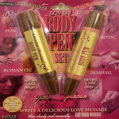 Edible Body Pens
