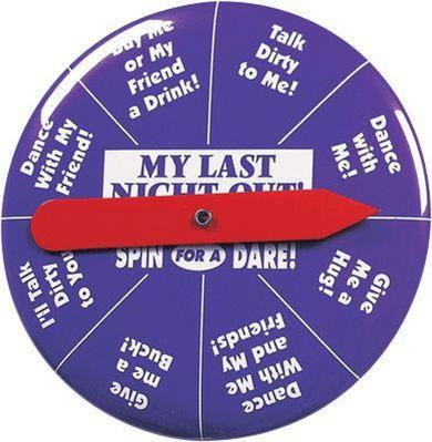 Last Night Out Spinnner Button