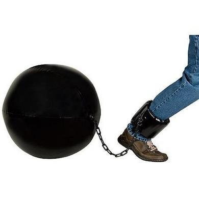 Inflatable Jumbo Ball and Chain