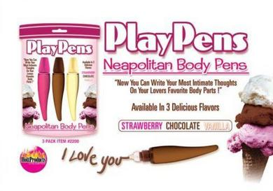 Play Pens Neapolitan Body Pens 3Pk
