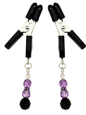 Lite Line Clamp W/Purple Beads