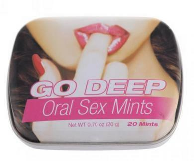 Go Deep Oral Sex Mints W/ Benzoczine
