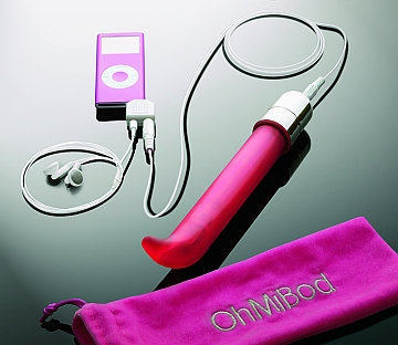 OhMiBod combines music and pleasure to create the ultimate acsexsory from sextoysex.com
