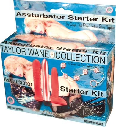 Taylor Wane's Asstubator Kit Red